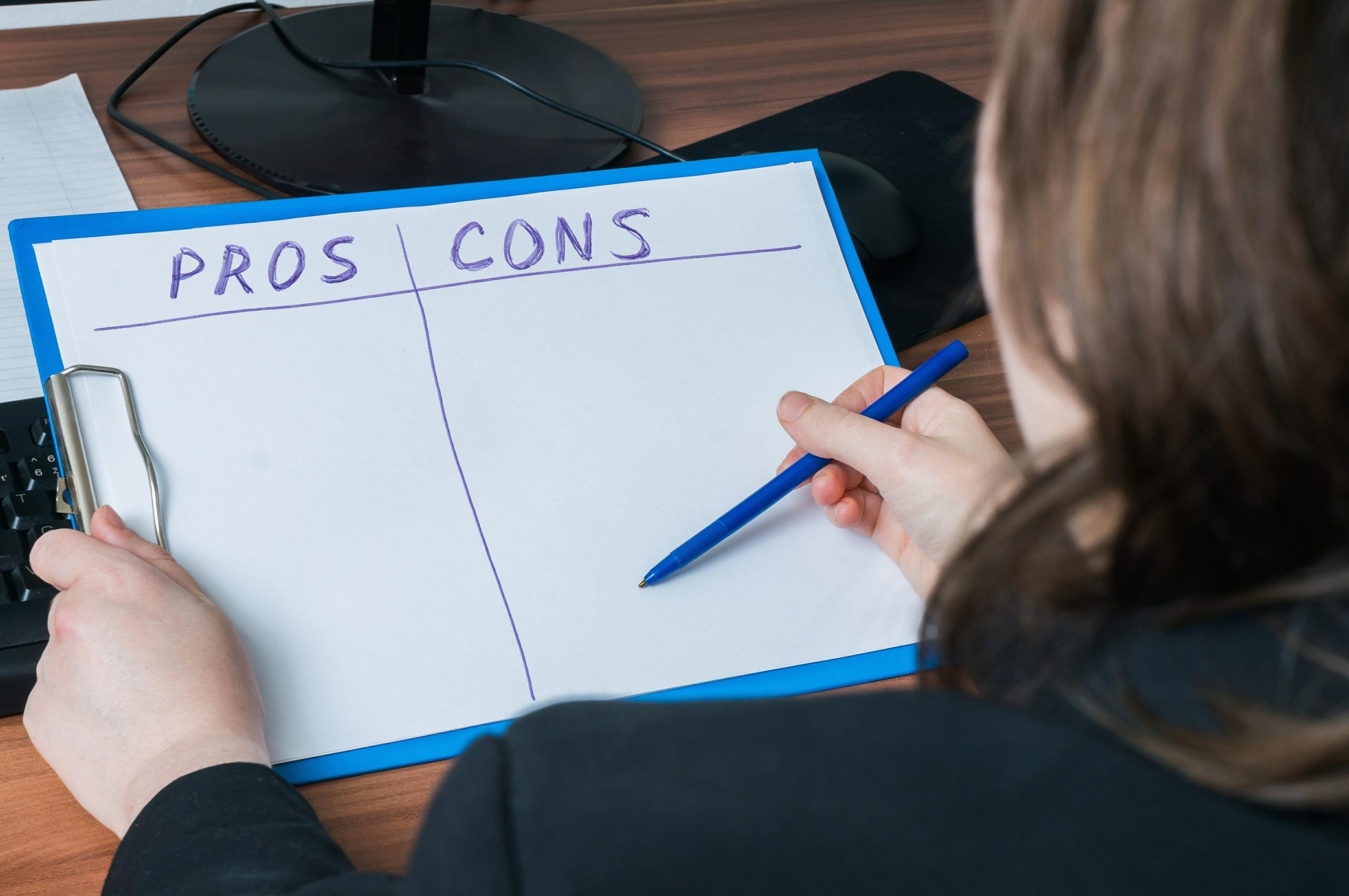 Listing All The Pros And Cons