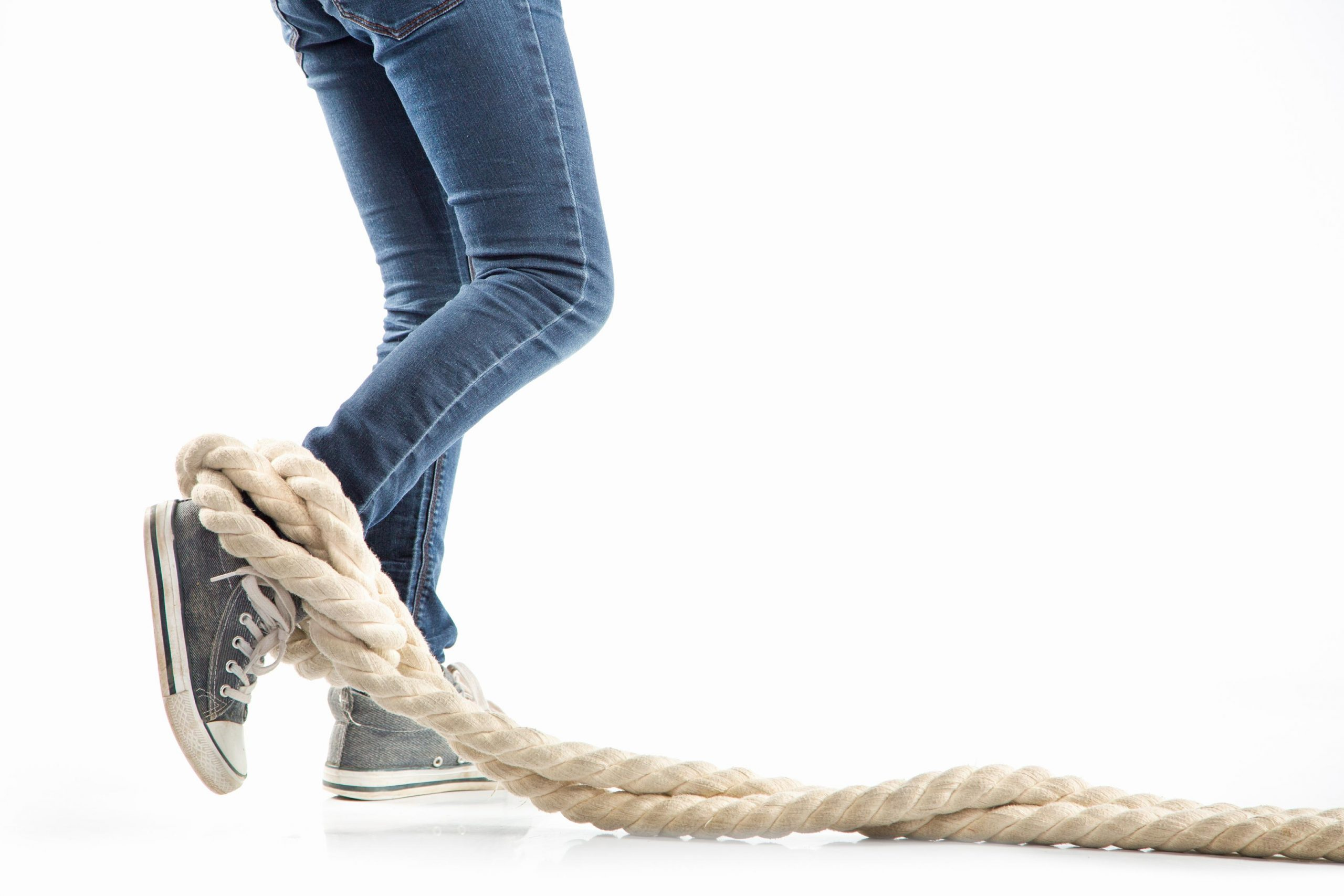 Choosing Freedom By Cutting The Rope